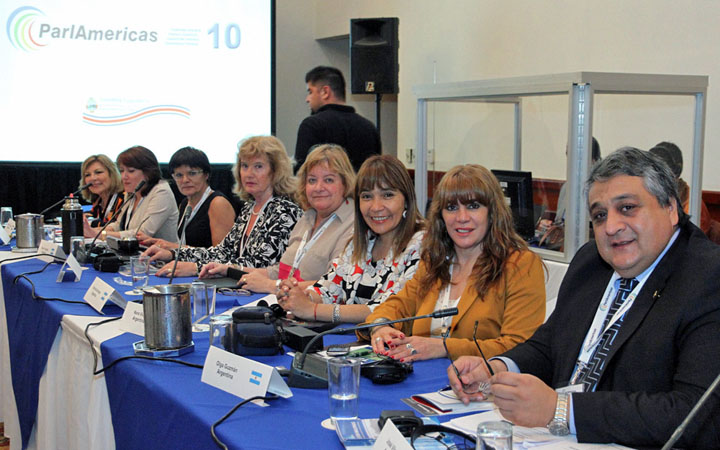 Argentinian delegation at the 10th Plenary Assembly