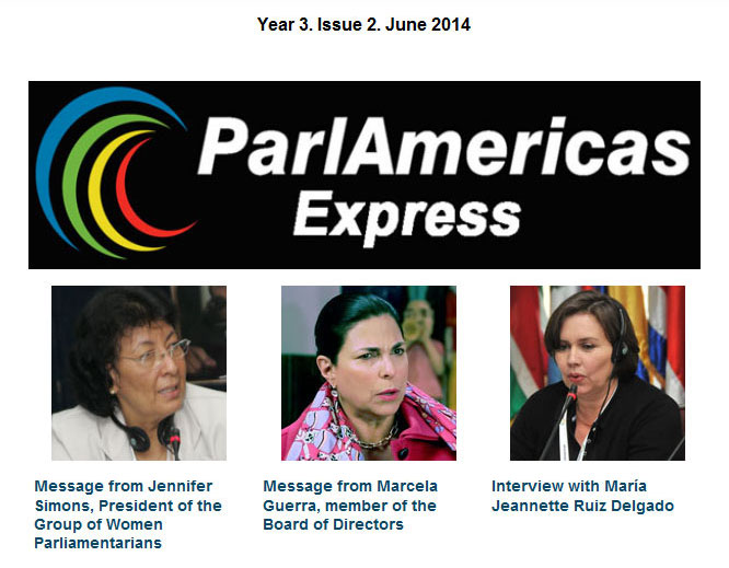ParlAmericas Express Year 3 Issue 2 June 2014